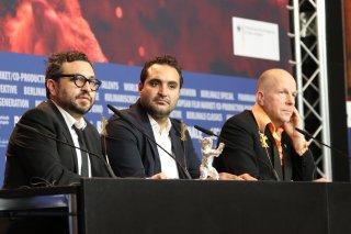 Berlino 2018: Manuel Alcalá e Alonso Ruizpalacios alla conferenza dei premiati