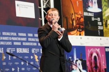 Berlino 2018: Anthony Bajon alla conferenza dei premiati