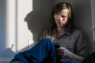 The Walking Dead: Chandler Riggs nell'episodio Honor