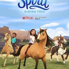 Locandina di Spirit Riding Free