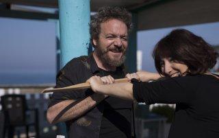Vengo anch'io: Corrado Nuzzo e Maria Di Biase in un'immagine promozionale del film