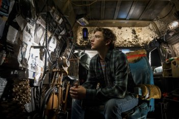 Ready Player One: Tye Sheridan in un momento del film