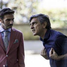 Una festa esagerata: Vincenzo Salemme e Andrea Di Maria in una scena del film