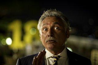 Una festa esagerata: Francesco Paolantoni in una scena del film