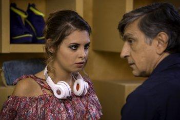 Una festa esagerata: Vincenzo Salemme e Mirea Flavia Stellato in una scena del film