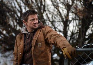 I segreti di Wind River: Jeremy Renner in una scena del film