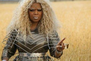 Nelle pieghe del tempo: Oprah Winfrey in una scena del film