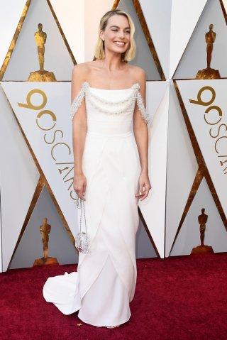 Margot Robbie agli Oscar 2018