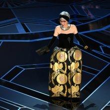 Oscar 2018: Rita Moreno durante la cerimonia