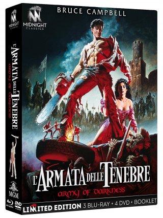 La cover dell'edizione speciale de L'armata delle tenebre