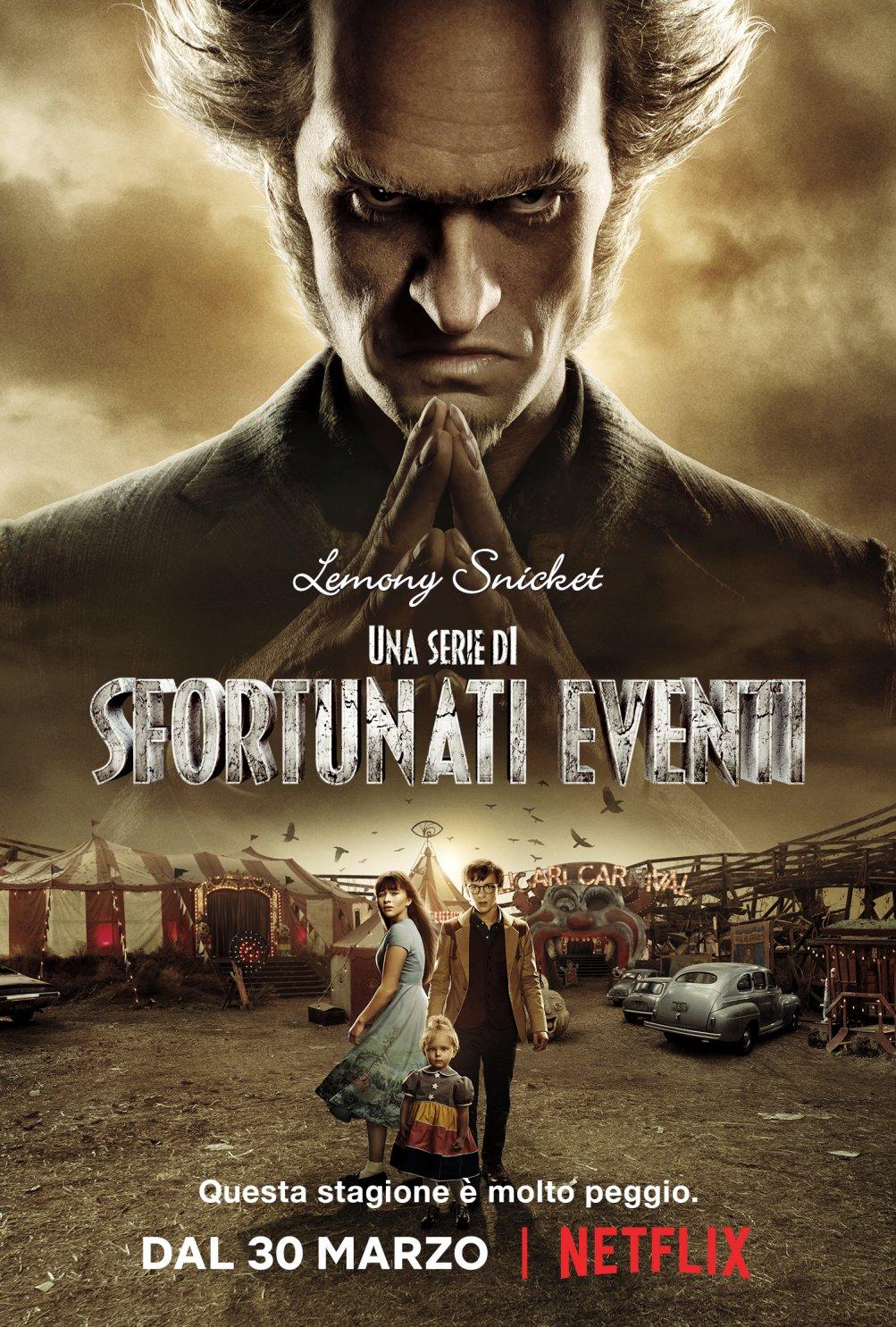 Una serie di sfortunati eventi: il poster della seconda stagione