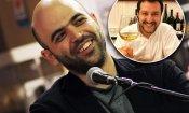 """Salvini """"brinda"""" su Twitter a Saviano e lui risponde citando Gomorra"""