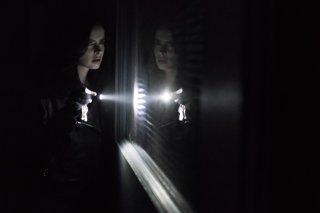 Jessica Jones: Krysten Ritter in una scena della seconda stagione