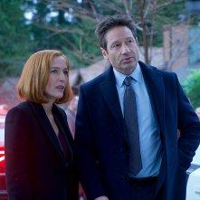 X-Files: Gillian Anderson con David Duchovny, episodio Familiar