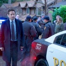 X-Files: un momento con David Duchovny nell'episodio Familiar