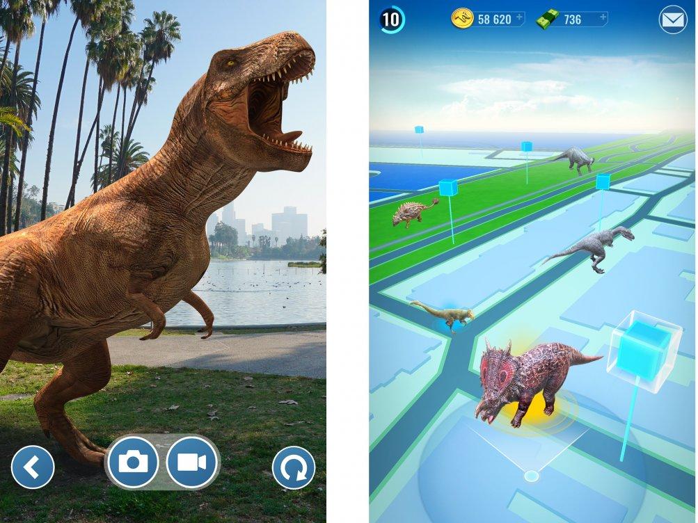 In arrivo i dinosauri in realtà aumentata con Jurassic World Alive