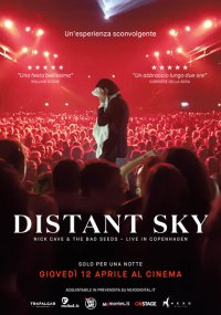 Distant Sky: Nick Cave & The Bad Seeds – Live in Copenaghen in streaming & download