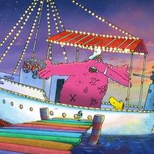 Molly Monster: un'immagine tratta dal film d'animazione