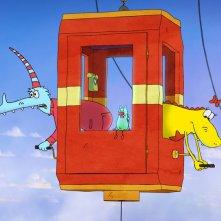 Molly Monster: un'immagine del film animato