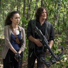 """The Walking Dead: un momento dell'episodio """"Dead or Alive Or"""""""