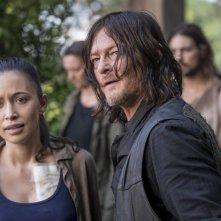 "The Walking Dead: Norman Reedus in un momento dell'episodio ""Dead or Alive Or"""