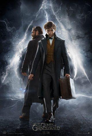 Animali Fantastici: I crimini di Grindelwald, il poster del film