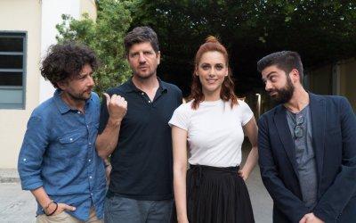 Metti la nonna in freezer: i registi e il cast a Roma, e la black comedy è servita