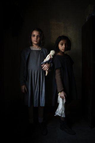 L'amica geniale: Elisa Del Genio e Ludovica Nasti