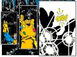 Avengers: Infinity War - una scena del fumetto citata nel trailer