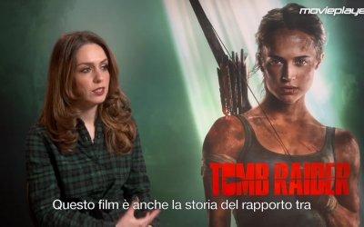 Tomb Raider: Video intervista a Alicia Vikander