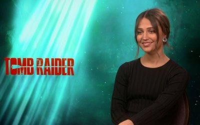 """Alicia Vikander su Tomb Raider: """"La mia Lara Croft si guadagna il titolo di guerriera"""""""