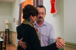 Bob & Marys - Criminali a domicilio: Rocco Papaleo e Laura Morante in una scena del film