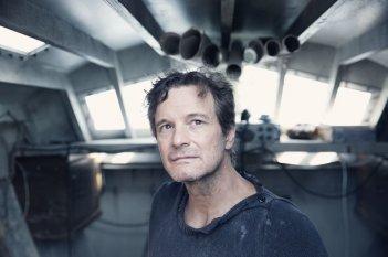Il mistero di Donald C.: Colin Firth in un'immagine del film