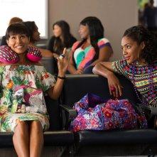 Il viaggio delle ragazze: Tiffany Haddish e Jada Pinkett Smith in una scena del film