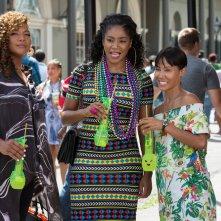 Il viaggio delle ragazze: Queen Latifah, Tiffany Haddish e Jada Pinkett Smith in una scena del film