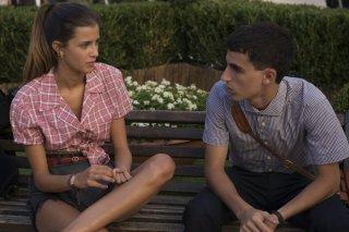 Quanto basta: Luigi Fedele e Benedetta Porcaroli in una scena del film