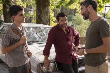 Quanto basta: Vinicio Marchioni, Luigi Fedele e Nicola Siri in una scena del film