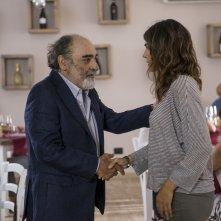 Quanto basta: Alessandro Haber e Valeria Solarino in una scena del film