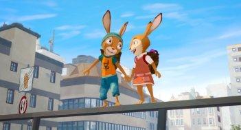 Rabbit School - I Guardiani dell'Uovo d'Oro: una scena del film d'animazione