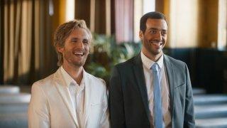 Sposami, stupido!: Philippe Lacheau e Tarek Boudali in un momento del film