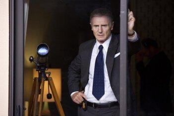 The Silent Man: Liam Neeson in una scena del film