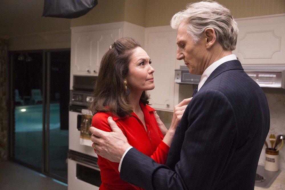 The Silent Man: Liam Neeson e Diane Lane in un momento del film