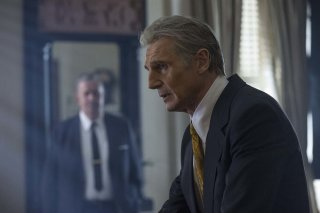 The Silent Man: Liam Neeson in un momento del film