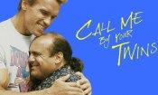 """Chiamami col tuo nome, il trailer-parodia con i """"gemelli"""" Schwarzenegger e DeVito"""