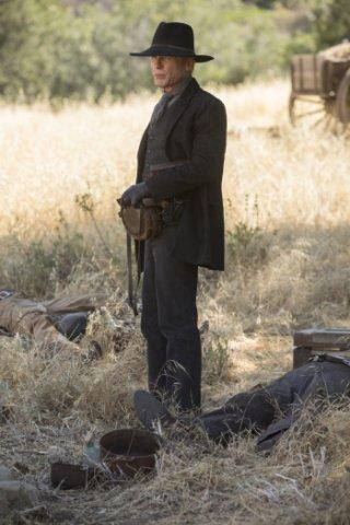 Westworld: Ed Harris in una foto della serie