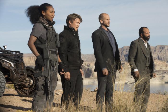 Westworld: una foto tratta dalla seconda stagione