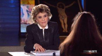 Storie Maledette: Franca Leosini intervista Sabrina Misseri (di spalle)