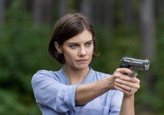 The Walking Dead: Lauren Cohan nell'episodio The Key