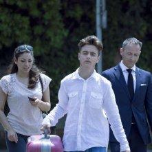 8 minuti: Fabrizio Mancia, Alessandra Silvesti e Alessandro Santini sul set del film
