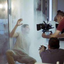 8 minuti: un'immagine dal set